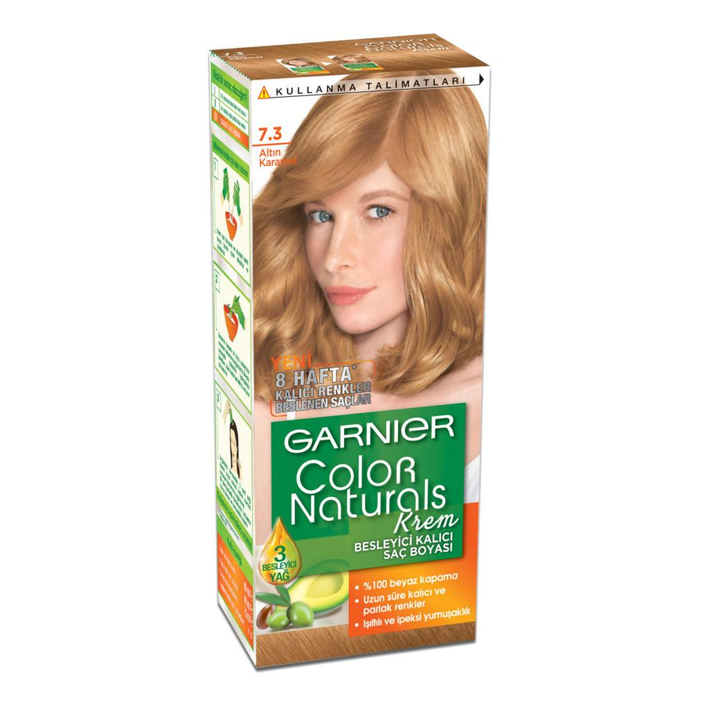 Garnier Color Naturals Sac Boyasi 7 3 Findik Kabugu